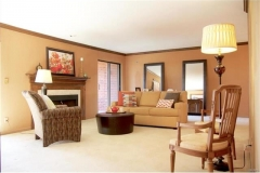Staged Living Room